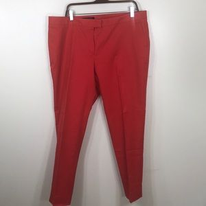 Brooks Brothers Chino Pants Red Womens 16